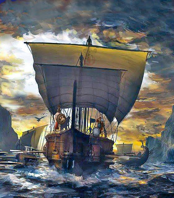 Οι μεγαλοφυείς προδιαγραφές της Τριήρους στην Ελλάδα κατά την αρχαιότητα.