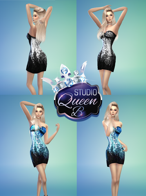 The Sims 4 CC - Party Dress 02