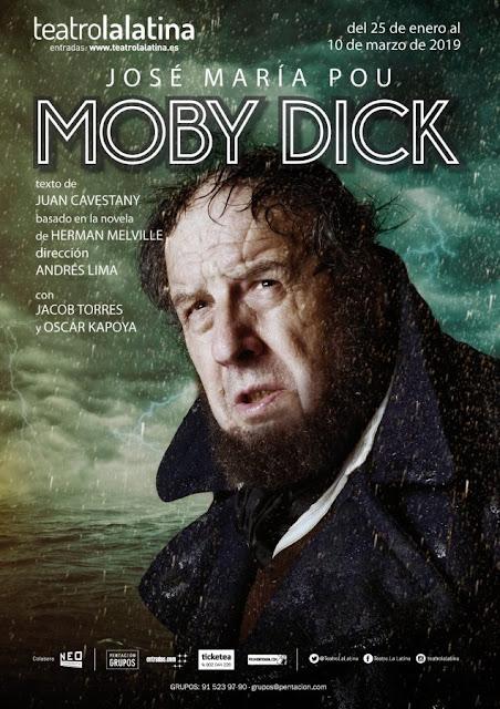 MOBY DICK: EL DUELO TEATRAL ENTRE POU Y SU BALLENA