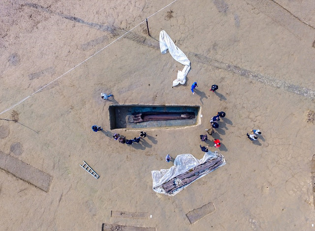 More on 2,200 year old boat coffins unearthed in SW China
