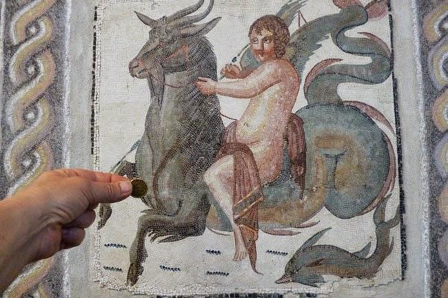 mosaico romano museu palacio massimo - Palácio Massimo, Museu de Roma