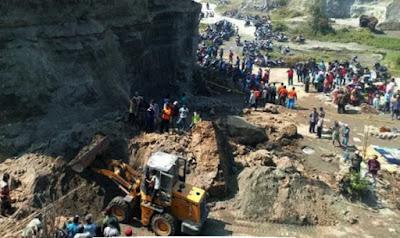 Tambang Pasir di Mojosari Longsor, Empat Pekerja Tewas Tertimbun