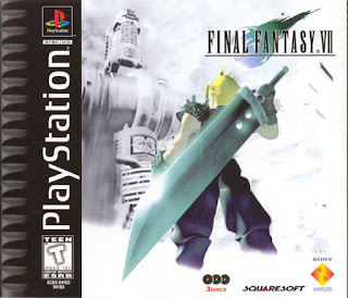 Carátula del disco de Final Fantasy VIII PlayStation, 1999