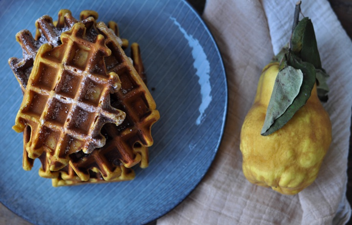 #pumpkin #cheesecake #waffles #glutenfree and oh-so easy to make