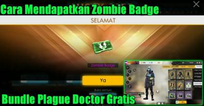Cara Mendapatkan Zombie Badge