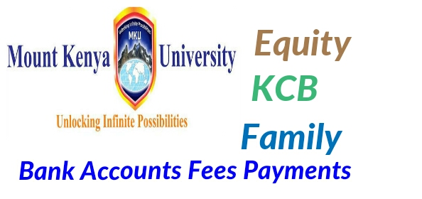 Mt.Kenya university bank account
