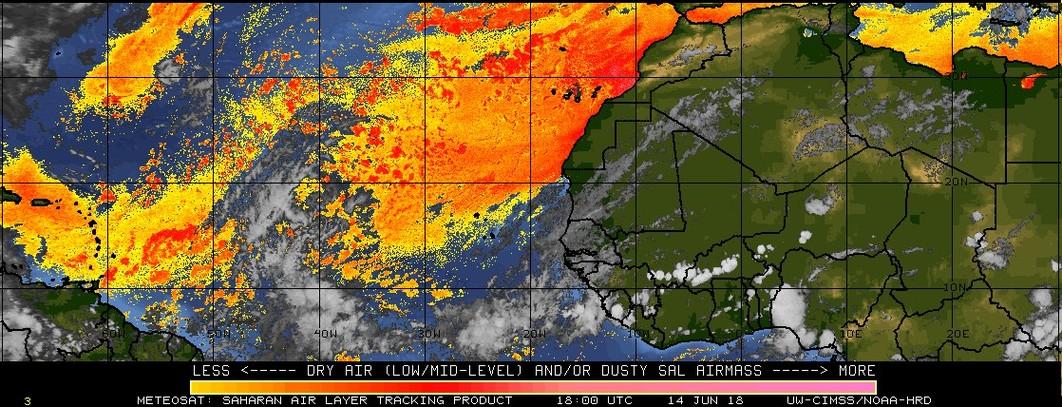The Phil Factor: Hurricane Activity update, El Niño, and Saharan Dust