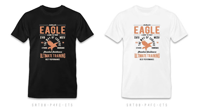 SRT08-P4FC-CTS Retro T Shirt Design, Custom T Shirt Printing