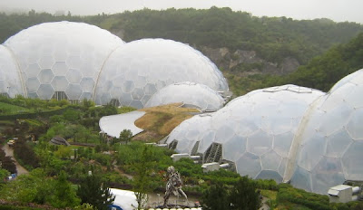 Geodesic domes at the Eden Project