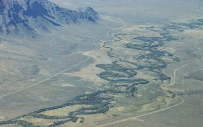 Resultado de imagen para mapa del rio chubut