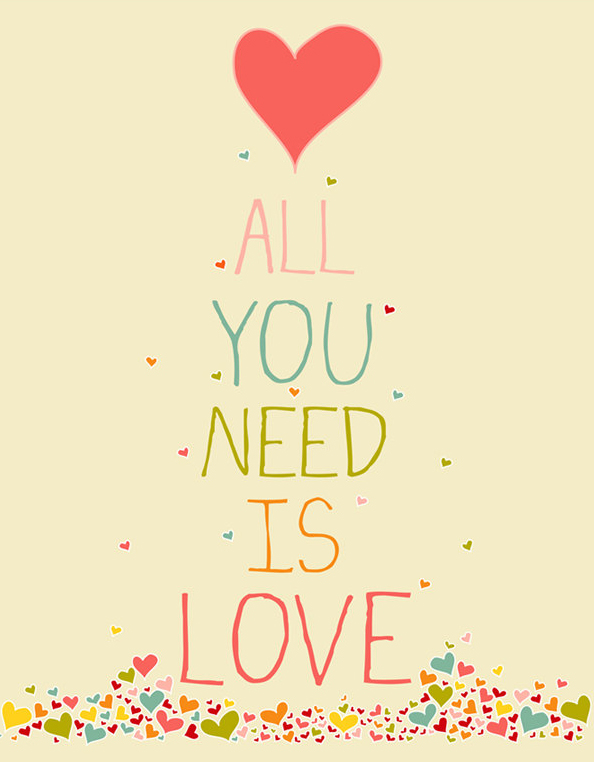 All you need is love – by Yana Nesper