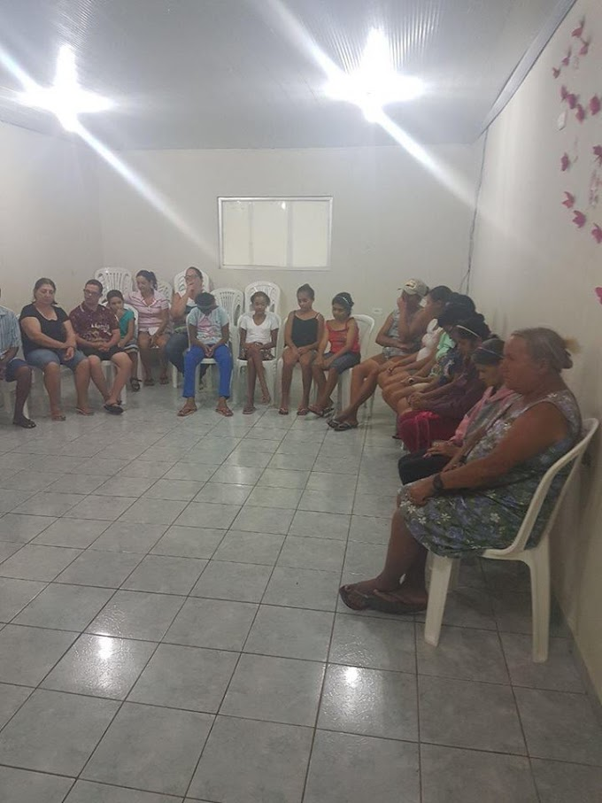 Cras realiza reunião com os pais das crianças e adolescentes do NAPE -Núcleo de Apoio a Pessoas Especiais