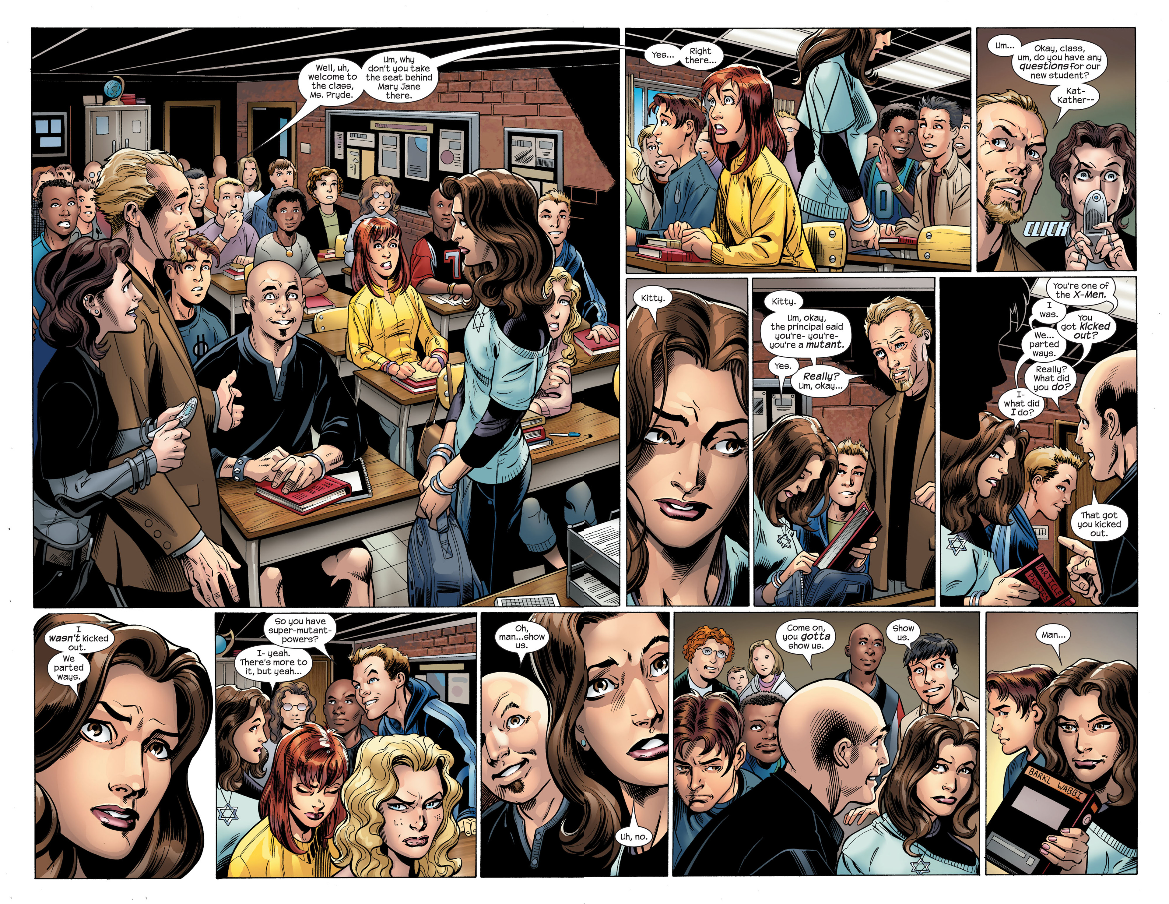 Read online Ultimate Spider-Man (2000) comic -  Issue #107 - 3