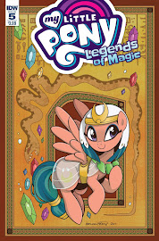 MLP Legends of Magic #5 Comic