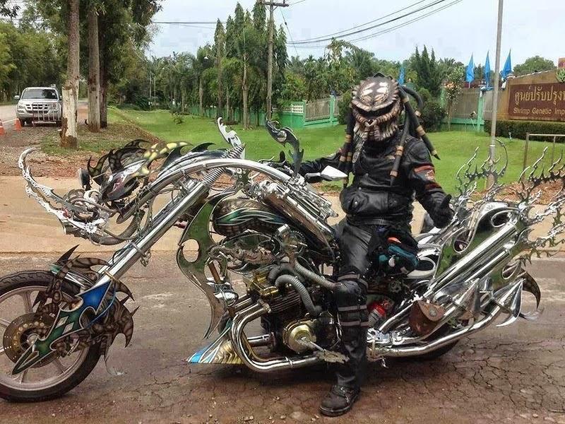 Тайский мотоцикл Хищник