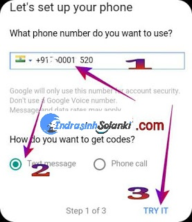Gmail_mobile_number