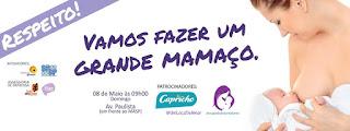 Dia das mães com mamaço na av paulista