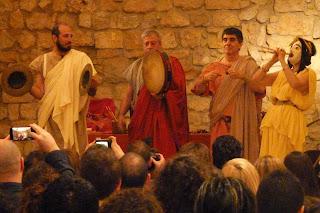 Ludi Scaneci, grupo profesional italiano de música romana.