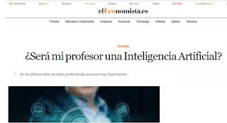 ¿Será mi profesor una Inteligencia Artificial?