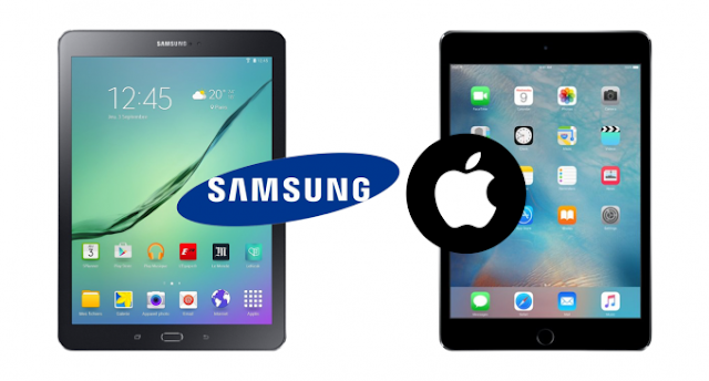 iPad Mini 4 & Samsung Galaxy Tab S2 8.0