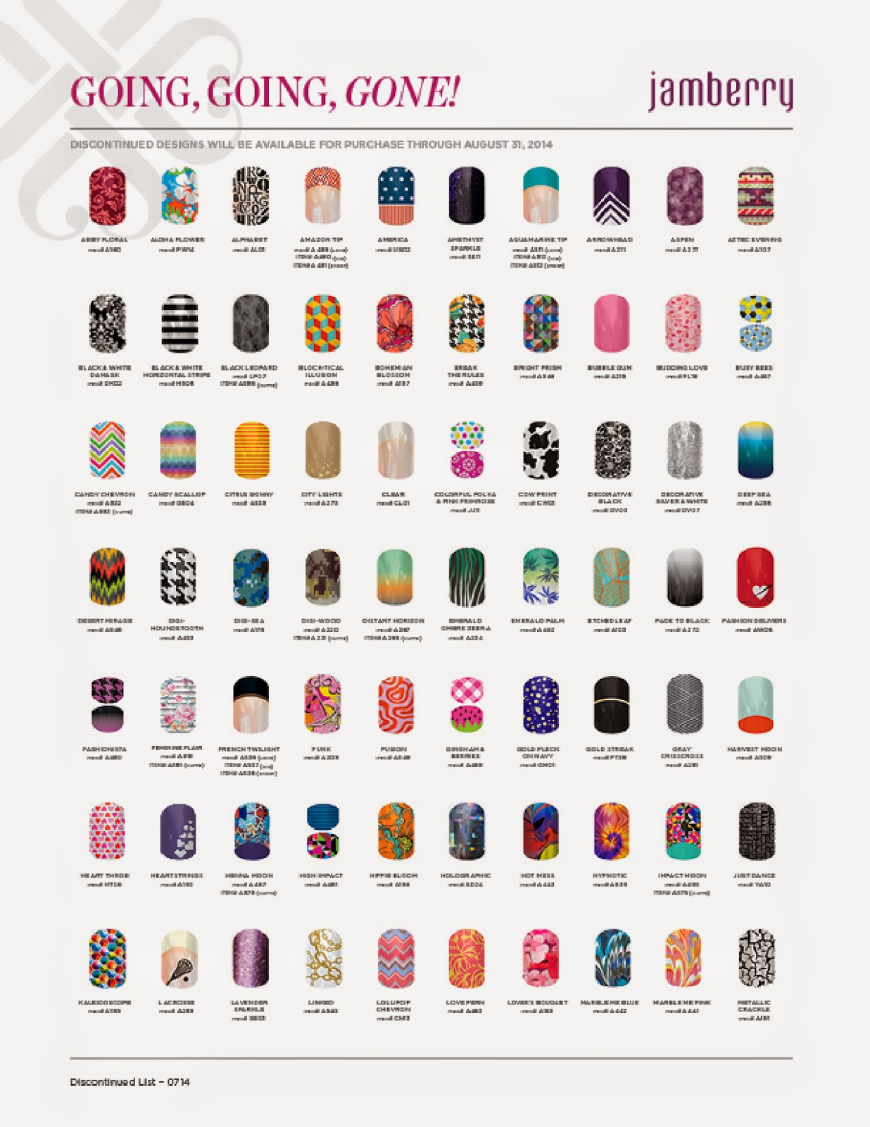 The Kerrie Show Fall Jamberry S Retiring Wraps List Going Going Gone