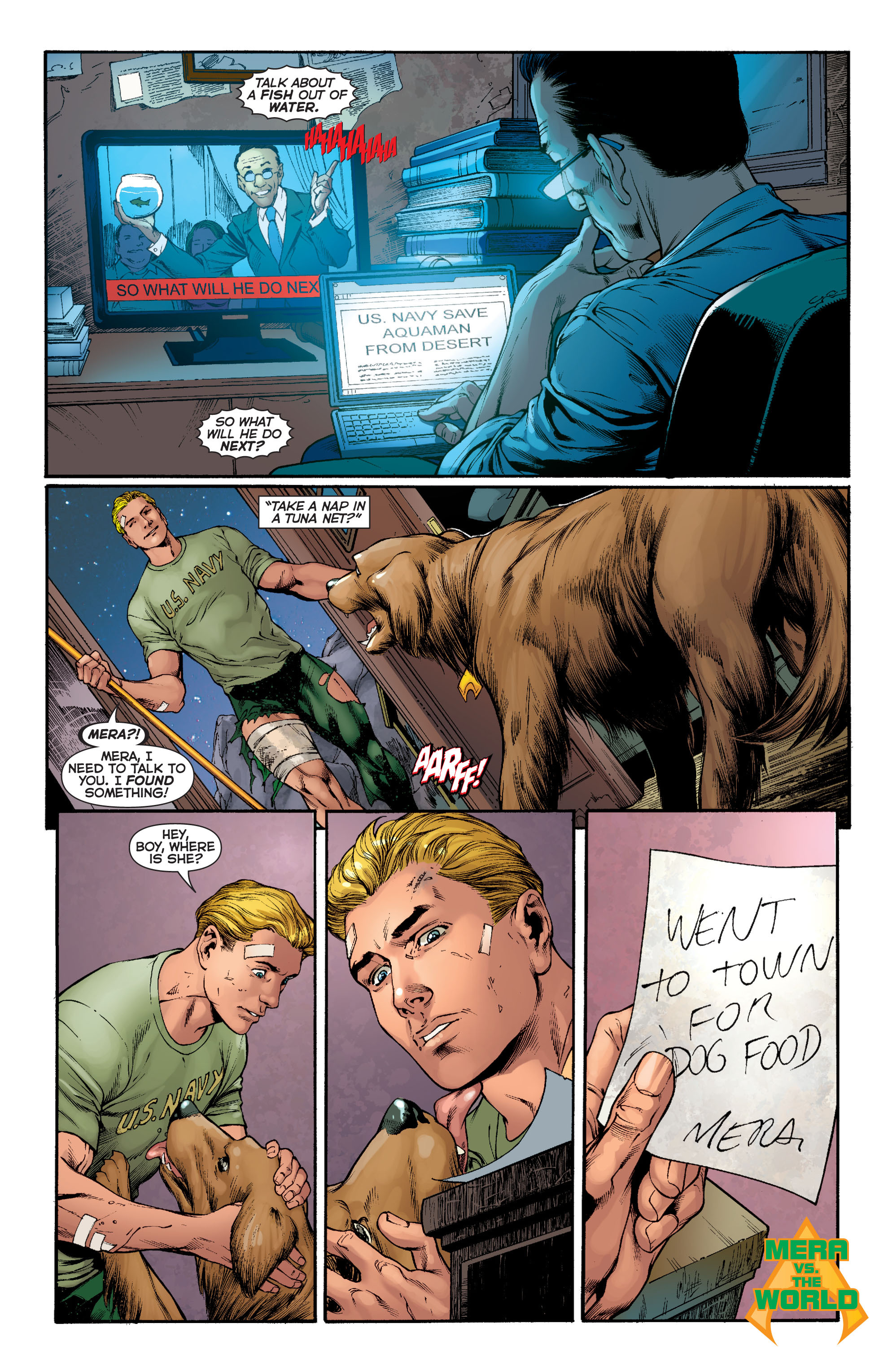 Read online Aquaman (2011) comic -  Issue #5 - 23