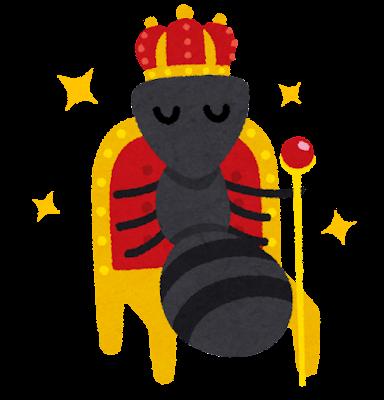 女王アリのキャラクター