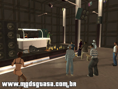 LS Black Danceteria para GTA San Andreas