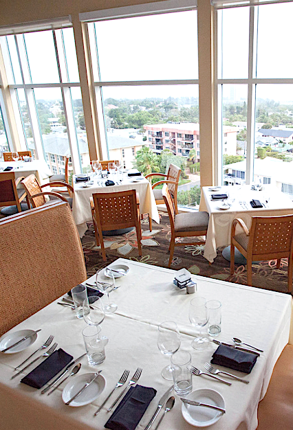 With Floor To Ceiling Windows And Panoramic Views Of Lido Key The Beach Grille Boasts Some Sarasota S Finest