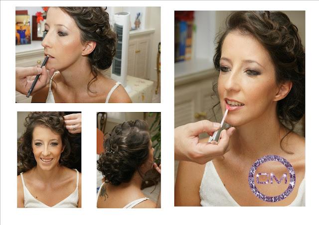 Maquillaje y peinado por La Caja de Maquillaje
