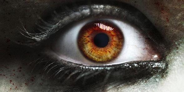 ojo de persona bajo posesión demoníaca