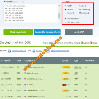 Cara Ganti Proxy Internet Gratis Full Speed Apa Saja