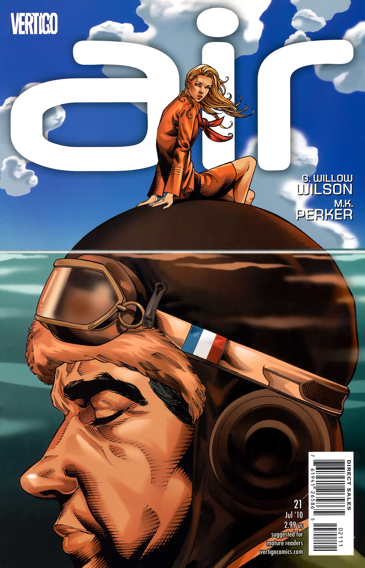 Read online Air comic -  Issue #21 - 1
