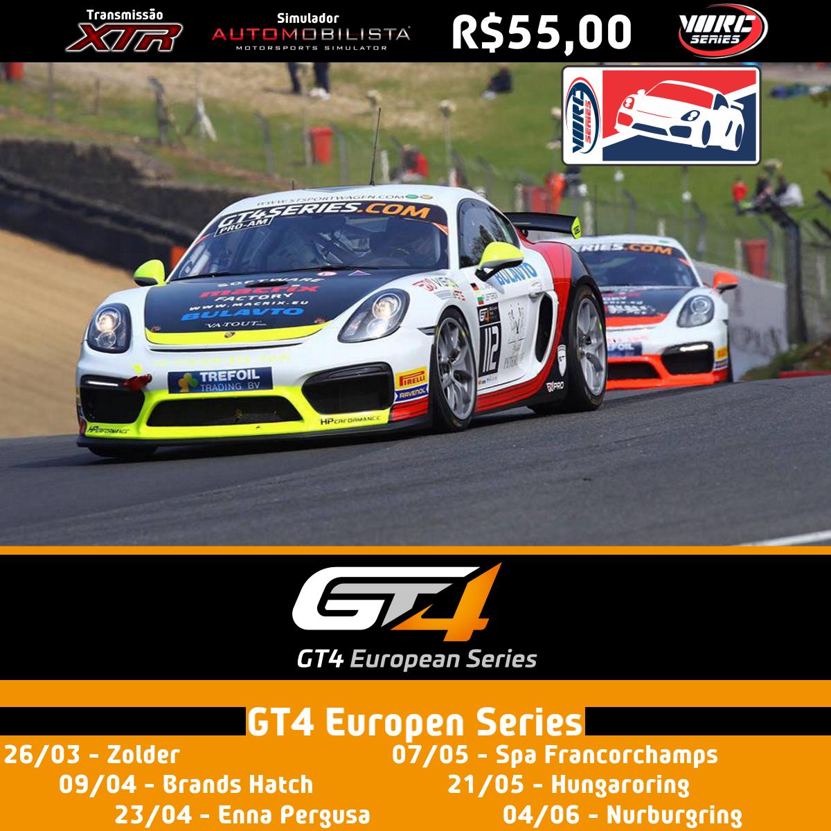 GT4 Series Europa