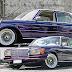 Mercedes450se rebaixada com rodas roda wire wheels aro 15 fixa