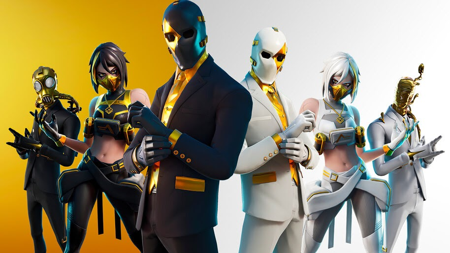 Fortnite, Double Agent, Skins, Outfits, 4K, #5.2256