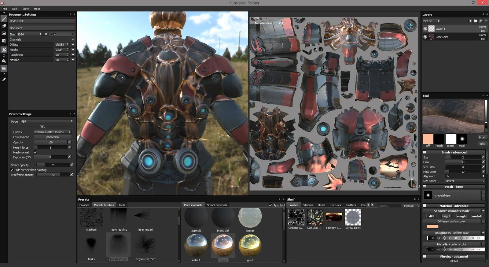 DOWNLOAD TO MAC OSX PORTABLE 2017 SUBSTANCE PAINTER 2017 4 2