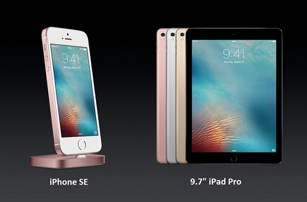 Apple Officially Launched 4 -inch IPhone SE and iPad pro 9.7-inch