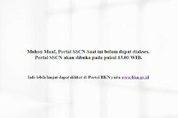 Info Pendaftaran CPNS Online 2018 di Portal SSCN BKN