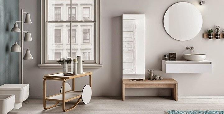 Casas de banho 12 fotos em estilo n rdico s nove em ponto - Casas estilo escandinavo ...