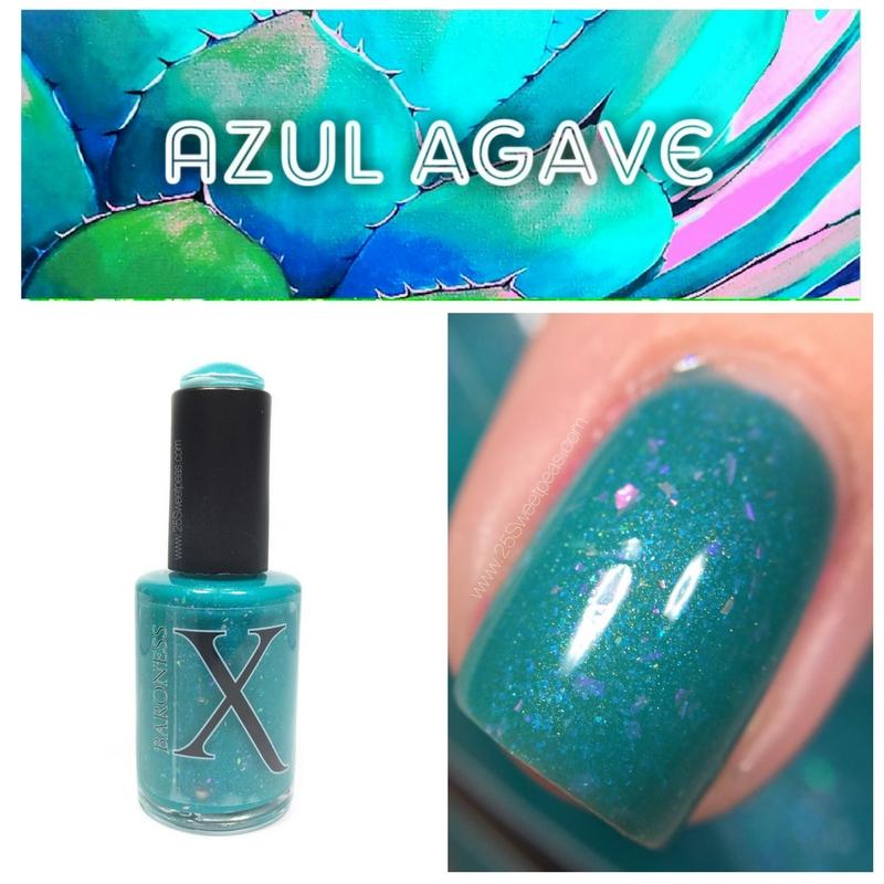 Baroness X Azul Agave