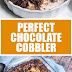 Perfect Chocolate Cobbler #dessertrecipes #chocolatecobbler