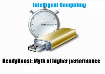USB Ready Boost Myth: Intelligent Computing