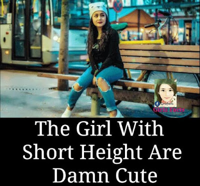 The Girl With Short Height Are Damn Cute