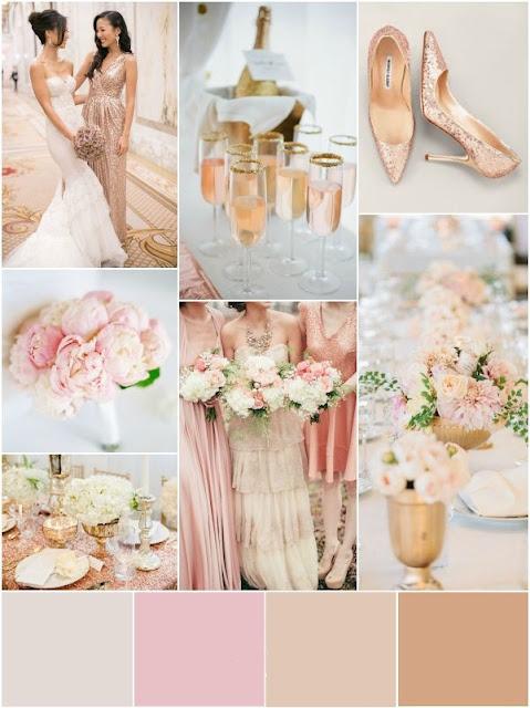 В каком цвете сделать свадьбу в 2017 году