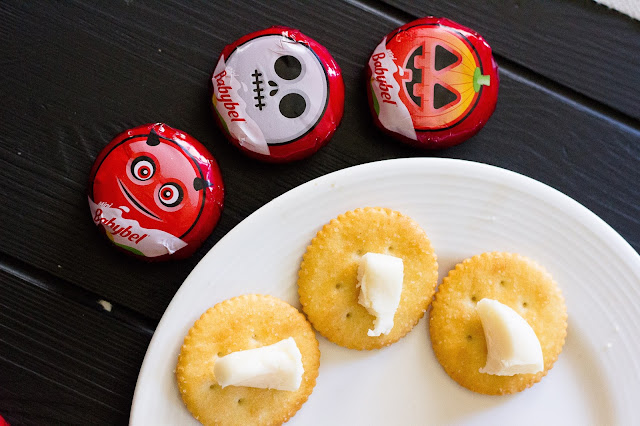 Mini Babybel available at Target the prefect Halloween tasty snack
