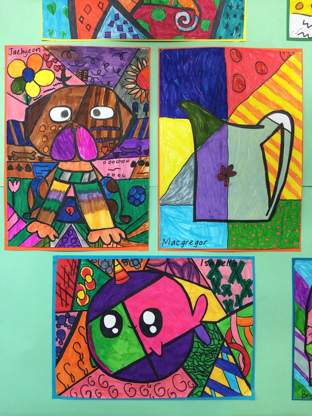 Classroom Ideas Year 7 ~ Mousehouse romero britto art