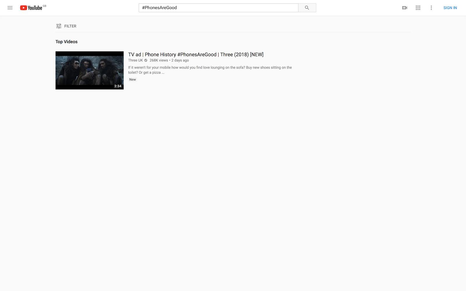 youtube black screen no video