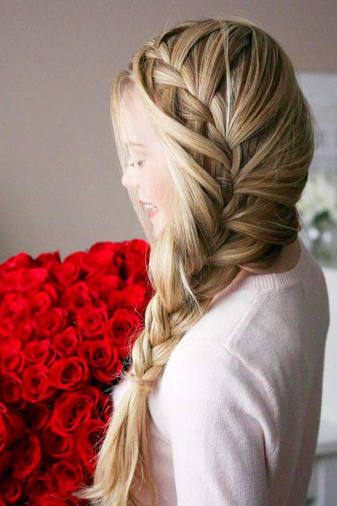 ROMANTIC HAIRSTYLES AND 8 INSPIRATIONAL HAPPY VALENTINES DAY QUOTES
