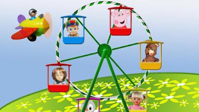 Peppa Pig. Canción de los juguetes 3